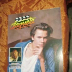Cinema: CLAQUETA Nº 1. MARZO 1989. RIVER PHOENIX. SIDNEY LUMET. MICHAEL CAINE. WILLEM DAFOE. *. Lote 32333908