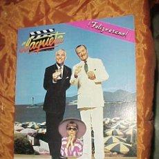 Cine: CLAQUETA Nº 5. AGOSTO 1989. STEVE MARTIN Y MICHAEL CAINE. KIM BASINGER. *. Lote 32357820