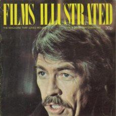 Cine: MAGAZINE FILMS ILLUSTRATED 1974 Nº37 VOLUMEN 4 8 (JAMES COBURN). Lote 32405624
