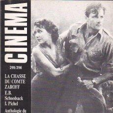 Cine: REVISTA CINEMA Nº 109. Lote 32458582