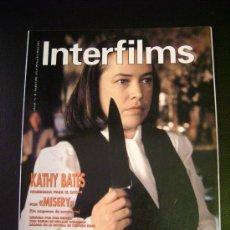Cine: INTERFILMS - AÑO IV Nº 30 MARZO 1991 KATHY BATES: MISERY. Lote 32466871