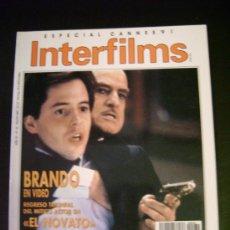 Cine: INTERFILMS - AÑO IV Nº 32 MAYO 1991 MARLON BRANDO REGRESO EL NOVATO - JEAN NEGULESCO. Lote 32466997