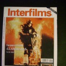 Cine: INTERFILMS - AÑO IV Nº 44 MAYO 1992 LLAMARADAS - GRANDES MITOS DEL CINE: DAVID LEAN. Lote 32467133