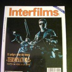 Cine: INTERFILMS - AÑO IV Nº 45 JUNIO 1992 TERMINATOR 2 - KEVIN COSTNER Y KATHLEEN TURNER- KIM BASINGER. Lote 32467168