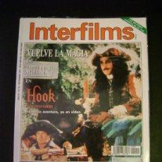 Cinema: INTERFILMS - AÑO IV Nº 51 DICIEMBRE 1992 VUELVE LA MAGIA DE SPIELBERG EN HOOK - ELIA KAZAN. Lote 32467204