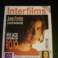 Cine: INTERFILMS - AÑO VI Nº 72 SEPTIEMBRE 1994 IRENE JACOB: ROJO - CLEOPATRA - TELLY SAVALAS. Lote 32467326