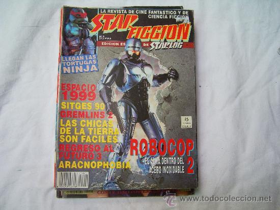 STAR FICCION Nº 2, LA REVISTA DE CINE FANTASTICO Y CIENCIA FICCION (Cine - Revistas - Star Ficcion)