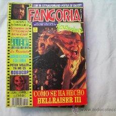 Cinema: FANGORIA Nº 9, LA REVISTA DE TERROR, HELLRAISER-III. Lote 32621015