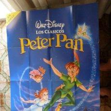 Cine: PÓSTER PETER PAN-( 94 CM X 62 CM.). Lote 32574585