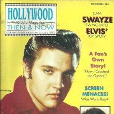 Cine: REVISTA HOLLYWOOD EDITADA EN USA AÑO 1989 ELVIS PRESLEY / PATRICK SWAYZE.... Lote 32601594