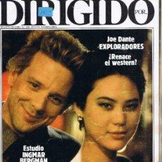Cine: DIRIGIDO POR - Nº 132 - JOE DANTE - FERNANDO COLOMO - MICHAEL CIMINO - INGMAR BERGMAN - BUGS BUNNY. Lote 32607042