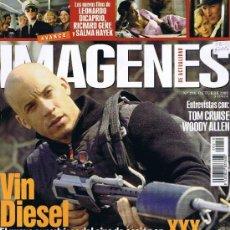 Cine: IMAGENES DE ACTUALIDAD - Nº 218 - 2002 - VIN DIESEL - WOODY ALLEN -TOM CRUISE - EL IMPERIO DEL FUEGO. Lote 32608244