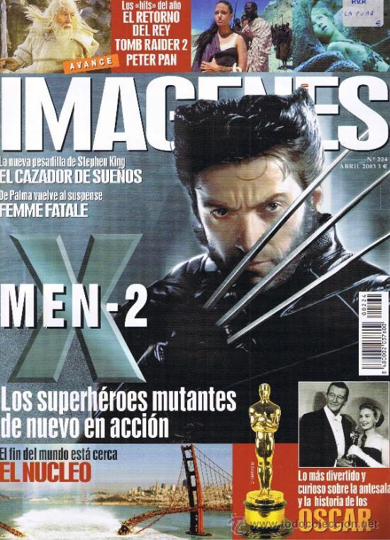 IMAGENES DE ACTUALIDAD - Nº 224 - 2003 - PIERCE BROSNAN - DE PALMA - STEPHEN KING - TOM RAIDER 2 (Cine - Revistas - Imágenes de la actualidad)