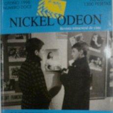 Cine: NICKEL ODEON. REVISTA TRIMESTRAL DE CINE. Nº 12. OTOÑO 1998. Lote 32608302