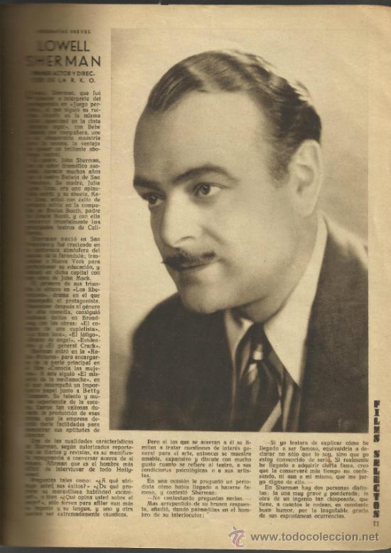 Cine: FILMS SELECTOS - AÑO III Nº 97-20 DE AGOSTO DE 1932 - Foto 2 - 32615646