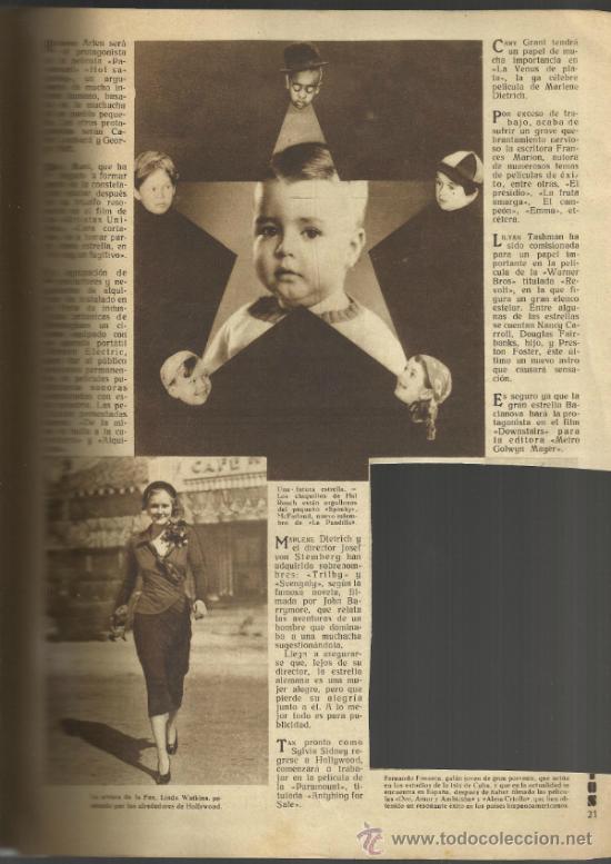Cine: FILMS SELECTOS - AÑO III Nº 97-20 DE AGOSTO DE 1932 - Foto 3 - 32615646