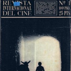 Cine: REVISTA INTERNACIONAL DEL CINE - ENCICLOPEDIA CINEMATOGRÀFICA - 43 NÚMEROS. Lote 32619944