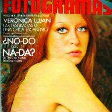 Cine: FOTOGRAMAS Nº1387 - 16 MAYO 75 - LOS SANT JORDI - FERNANDO REY – VERONICA LUJAN. Lote 32636617