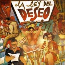 Cine: CARTEL CINE GIGANTE 120X90: ALMODOVAR: LA LEY DEL DESEO. CUADRO EN MADERA. AUTOR CEESEPE. Lote 32797051