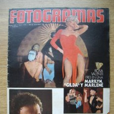 Cine: REVISTA FOTOGRAMAS. Nº 1419. 26/12/1975. ROSA VALENTI. JAMES CAAN. J.L. BORAU. ESTHER WILLIAMS. Lote 32804942