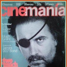 Cine: REVISTA CINEMANIA NUM. 3 DICIEMBRE 1995 -FERNANDO TRUEBA,PEDRO ALMODOVAR,ELISABETH SHUE,NICOLAS CAGE. Lote 32861095