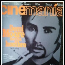 Cine: REVISTA CINEMANIA NUM. 11 AGOSTO 1996 - DEMI MOORE, JIM CARREY, SHARON STONE, CARMEN MAURA, ETC. . Lote 32822837