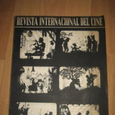 Cine: REVISTA INTERNACIONAL DEL CINE Nº 20 OCTUBRE DE 1955 . Lote 32979713