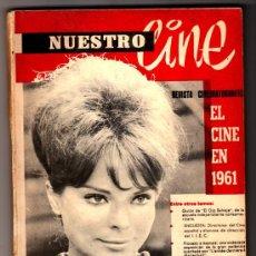 Cine: NUESTRO CINE Nº 6 - 7 PORTADA: MARIA CUADRA. CONTRAPORTADA INTERIOR: NURIA ESPERT A TODA PÁGINA . Lote 33054051
