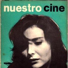 Cine: NUESTRO CINE Nº 34 PORTADA: NURIA ESPERT. FREE CINEMA. CINE ESPAÑOL. Lote 33055542