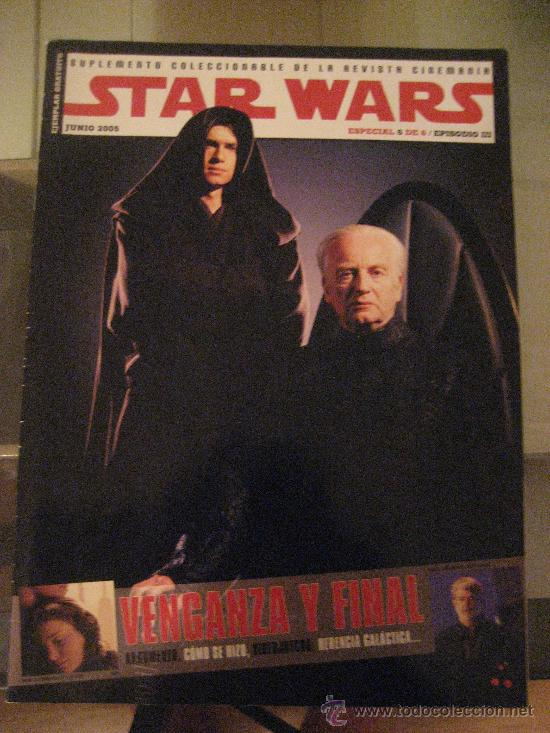 STAR WARS EPISODIO III. REVISTA ESPECIAL CINEMANIA JUNIO 2005 COMO NUEVA (Cine - Revistas - Cinemanía)