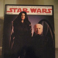 Cine: STAR WARS EPISODIO III. REVISTA ESPECIAL CINEMANIA JUNIO 2005 COMO NUEVA. Lote 33060846