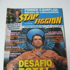 Cine: REVISTA STAR FICCION Nº 1 - SEPT 1990 - DESAFIO TOTAL. Lote 49664147