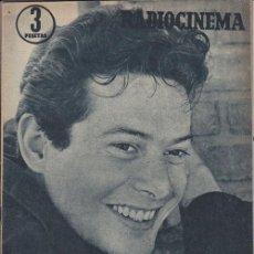 Cine: RADIOCINEMA. REVISTA CINEMATOGRÁFICA NACIONAL. Nº353 (27 ABRIL 1957). Lote 33133834