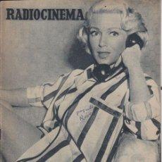 Cine: RADIOCINEMA. REVISTA CINEMATOGRÁFICA NACIONAL. Nº314 (24 JULIO 1956). Lote 33133853