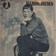 Cine: RADIOCINEMA. REVISTA CINEMATOGRÁFICA NACIONAL. Nº 244 (26 MARZO 1955). Lote 33133875