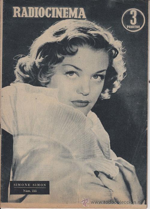 RADIOCINEMA. REVISTA CINEMATOGRÁFICA NACIONAL. Nº 235 (22 ENERO 1955) (Cine - Revistas - Radiocinema)
