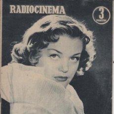 Cine: RADIOCINEMA. REVISTA CINEMATOGRÁFICA NACIONAL. Nº 235 (22 ENERO 1955). Lote 33133918