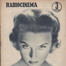 Cine: RADIOCINEMA. REVISTA CINEMATOGRÁFICA NACIONAL. Nº 377 (12 DE OCTUBRE 1957). Lote 33137139