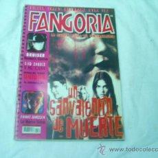 Cinema: FANGORIA Nº 6 (SEGUNDA EPOCA),BRUISER, ROD ZOMBIE, UNIDOS, EL ESPINAZO DEL DIABLO. Lote 193670311