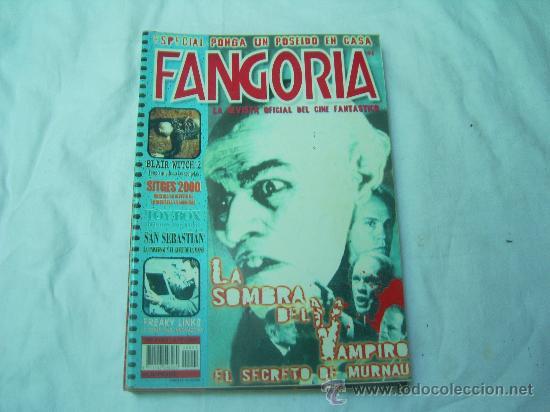 FANGORIA Nº 4 (SEGUNDA EPOCA), LA SOMBRA DEL VAMPIRO, BLAIR WITCH (Cine - Revistas - Fangoria)