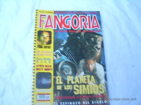 FANGORIA Nº 7,(SEGUNDA EPOCA),EL PLANETA DE LOS SIMIOS, FINAL FANTASY (Cine - Revistas - Fangoria)