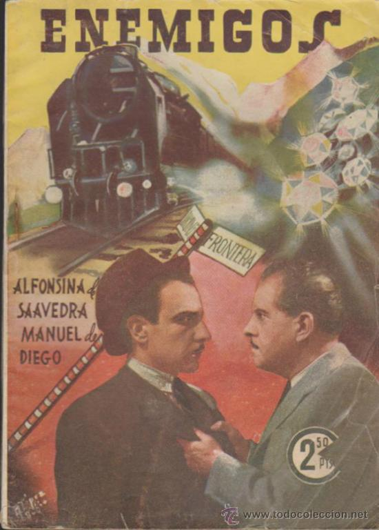 ENEMIGOS. COLECCIÓN CINEMA. EDICIONES MARISAL 1942. (Cine - Revistas - Cinema)