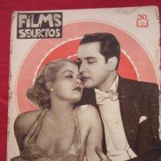 Cine: REVISTA, FILMS SELECTOS , NUMERO 142 JULIO 1933.. Lote 33345978