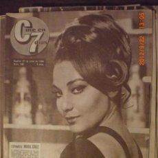 Cine: CINE EN 7 DIAS Nº 168 27-6-1964 MARA CRUZ. Lote 33360321