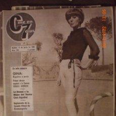 Cine: CINE EN 7 DIAS Nº 223 17-7-1965 EDY CAMPAGNOLI. Lote 33361743
