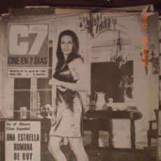 Cine: CINE EN 7 DIAS Nº 368 27-4-1968 CHRIS MARISCO. Lote 33361863