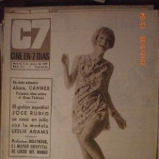 Cine: CINE EN 7 DIAS Nº 317 6-5-1967 VIVIEN CADWELL. Lote 33362045
