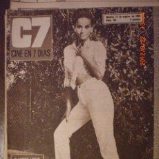Cine: CINE EN 7 DIAS Nº 284 17-9-1966 CLAUDINE AUGER. Lote 33362059