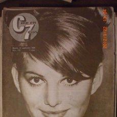 Cine: CINE EN 7 DIAS Nº 179 12-9-1964 CLAUDIA CARDINALE. Lote 33362149