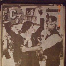 Cine: CINE EN 7 DIAS Nº 186 31-10-1964 VICENTE PARRA IRAN EORY. Lote 33362260